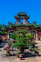 Quan Cong Temple, Founded in 1653, this small temple is dedicated to Quan Cong, an esteemed Chinese general who is worshipped as a symbol of loyalty, sincerity, integrity and justice, Hoi An, Vietnam.