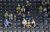 Football - 2020 / 2021 EFL League Two - Forest Green Rovers vs Bradford City<br /> <br /> Forest Green Rovers fans in attendance as part of the test pilot allowing up to 100 fans into the ground, at the New Lawn Stadium<br /> <br /> COLORSPORT/ASHLEY WESTERN