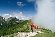 Hiking in Carinthia's Nockberge National Park, Austria