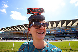 Racegoer Lavinia Lewis during day four of Royal Ascot at Ascot Racecourse.
