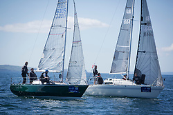 Pelle P Kip Regatta 2019 Day 1<br /> <br /> Light and bright conditions for the opening racing on the Clyde keelboat season<br /> <br /> GBR6305C, Lady Ex, Ben Shelley, Fairlie Yacht Club, Extrovert 22