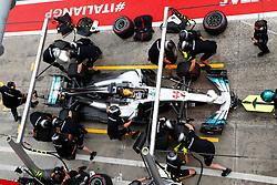 September 1, 2017 - Monza, Italy - Motorsports: FIA Formula One World Championship 2017, Grand Prix of Italy, .#44 Lewis Hamilton (GBR, Mercedes AMG Petronas F1 Team) (Credit Image: © Hoch Zwei via ZUMA Wire)
