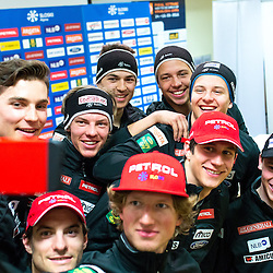20150313: SLO, Alpine Ski - Press conference of Slovenia Men Team