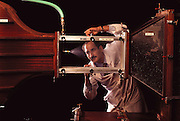 Failure Analysis Associates, Inc. (an engineering and scientific consulting firm now called Exponent). Menlo Park, California. Wind tunnel study of flat spray head. Testing pesticide dispersion for various speeds of crop duster aerial application. MODEL RELEASED
