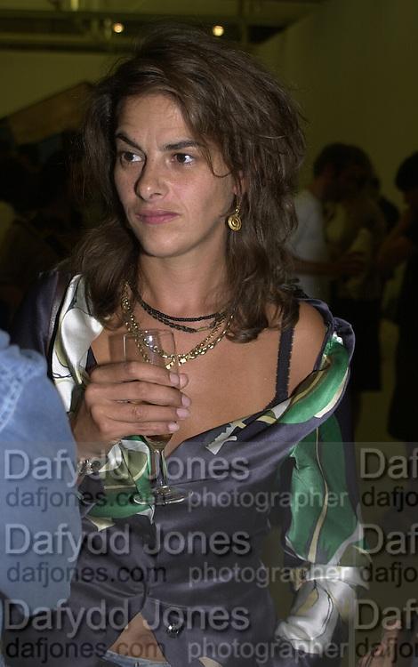 Tracey Emin. Ant Noises 2. Saatchi Gallery. 12 September 2000. © Copyright Photograph by Dafydd Jones 66 Stockwell Park Rd. London SW9 0DA Tel 020 7733 0108 www.dafjones.com