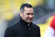 Aberdeen Manager Stephen Glass during the Scottish Premiership match between Livingston and Aberdeen at Tony Macaroni Arena, Livingstone, Scotland on 1 May 2021.