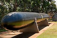 Japanese suicide torpedo submarine, Pearl Harbor, Oahu, Hawaii
