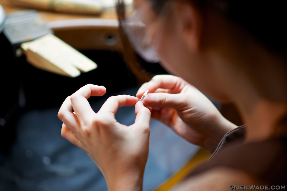 Many arts and crafts classes are available at the Songshan Culture and Creative Park, in Taipei, Taiwan.