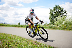 Anna Christian (GBR) at Stage 2 of 2019 OVO Women's Tour, a 62.5 km road race starting and finishing in the Kent Cyclopark in Gravesend, United Kingdom on June 11, 2019. Photo by Sean Robinson/velofocus.com