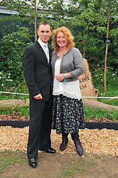 GARY RHODES and CHARLIE DIMMOCK at the 2011 RHS Chelsea Flower Show VIP & Press Day at the Royal Hospital Chelsea, London, on 23rd May 2011.