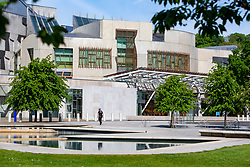 Scottish Parliament at Holyrood watch today.