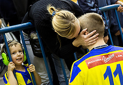 Gal Marguc of RK Celje PL after the handball match between RK Celje Pivovarna Lasko and RK Gorenje Velenje in Eighth Final Round of Slovenian Cup 2015/16, on December 10, 2015 in Arena Zlatorog, Celje, Slovenia. Photo by Vid Ponikvar / Sportida
