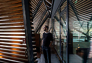 Helsinki, Sauna Löyly, the designer Ville Hara from Avanto Architects