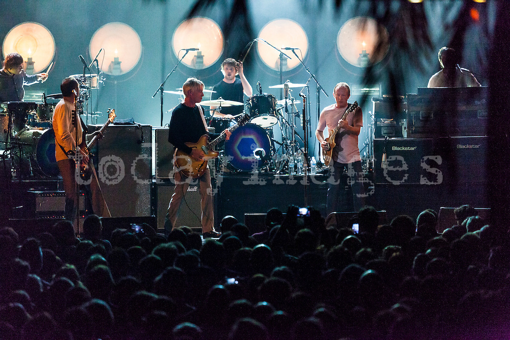 Paul Weller performs  at the  Riviera  Club in Madrid