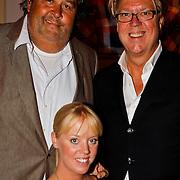 NLD/Hilversum/20100819 - RTL perspresentatie 2010, meesterkok Julius Jaspers, Robert Kranenborg en dochter Priscilla