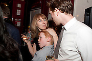 The Man Booker Best Of Beryl Prize, The Union, 50 Greek Street, London, 19 April 2011. Party celebrates special prize created by the Booker Foundation in honour of the late Beryl Bainbridge who died in July 2010.   -DO NOT ARCHIVE-© Copyright Photograph by Dafydd Jones. 248 Clapham Rd. London SW9 0PZ. Tel 0207 820 0771. www.dafjones.com. JOJO DAVIS; LUTHER FORD, The Man Booker Best Of Beryl Prize, The Union, 50 Greek Street, London, 19 April 2011. Party celebrates special prize created by the Booker Foundation in honour of the late Beryl Bainbridge who died in July 2010.   -DO NOT ARCHIVE-© Copyright Photograph by Dafydd Jones. 248 Clapham Rd. London SW9 0PZ. Tel 0207 820 0771. www.dafjones.com.