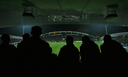 Fans during the fourth round qualification game of 2010 FIFA WORLD CUP SOUTH AFRICA in Group 3 between Slovenia and Northern Ireland at Stadion Ljudski vrt, on October 11, 2008, in Maribor, Slovenia.  (Photo by Vid Ponikvar / Sportal Images)