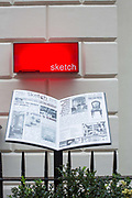 Sketch Mayfair on 15th November 2015 in London, United Kingdom. (photo by Sam Mellish / Getty Images)