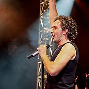 NLD/Utrecht/20100903 - Premiere Queen musical We Will Rock You, john vooijs