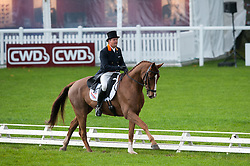 Heffernan Andrew (NED) - Regal Mix<br /> FEI World Championship for Young Horses Le Lion d'Angers 2012<br /> © Hippo Foto - Jon Stroud