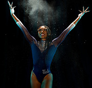 UCLA Athletics - 2021 UCLA Women's Gymnastics Media Day portraits and poster photos.  UCLA, Los Angeles, CA.<br /> November 17th, 2020<br /> Copyright Don Liebig/ASUCLA<br /> Dennis_Nia_085.NEF