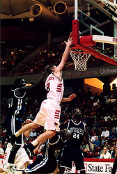 November 16, 2001:  Illinois State Redbird basketball player Gregg Alexander...This image was scanned from a print.  Image quality may vary.  Dust and other unwanted artifacts may exist.