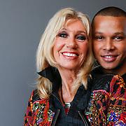 NLD/Hilversum/20121206 - Presentatie Ali B. op volle toeren, Maggie McNeal en Bollebof