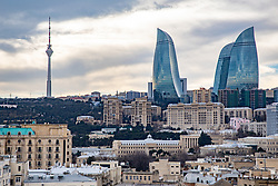 Flame Towers & Funicular