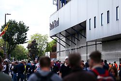 General View outside White Hart Lane before the final game at the stadium before it's closure for demolition and redevelopment - Rogan Thomson/JMP - 14/05/2017 - FOOTBALL - White Hart Lane - London, England - Tottenham Hotspur v Manchester United - Premier League.