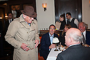 NICKY HASLAM; A.A.GILL, Vanity Fair Lunch hosted by Graydon Carter. 34 Grosvenor Sq. London. 14 May 2013