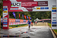 2021 UCI BMXSX World Cup<br /> Round 4 at Bogota (Colombia)<br /> Main<br /> ^we#100 PAJON, Mariana (COL, WE) GW, Nologo, 100%, Shimano, Red Bull, AnswerBMX