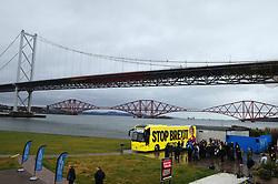 Nicola Sturgeon - Port Edgar-South Queensferry - 05-12-2019<br /> <br /> Nicola Sturgeon with the tour bus<br /> <br /> (c) David Wardle | Edinburgh Elite media