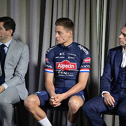 03-01-2020: Wielrennen: Teampresentatie Corendon: Amsterdam<br />Philip Roodhooft, Mathieu van der Poel, Christophe Roodhooft