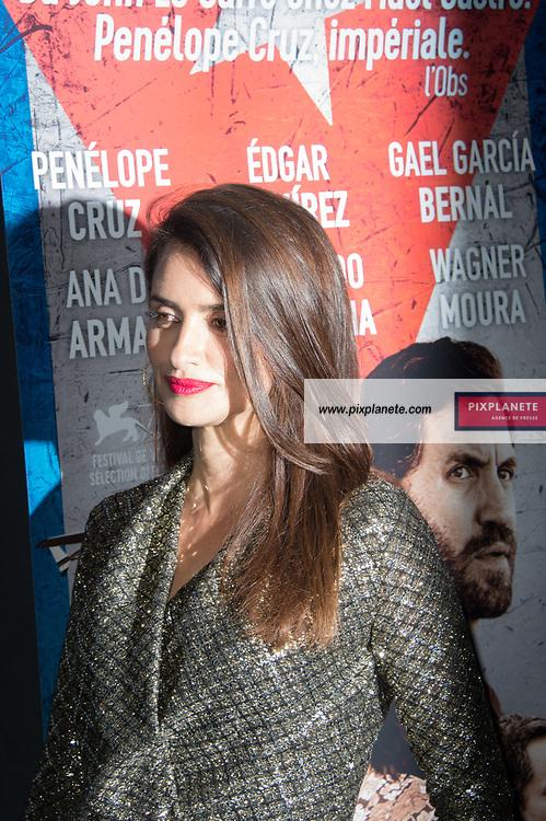 Pénélope Cruz Avant première du film Cuba Network Mercredi 22 Janvier 2020 Pathé Beaugrenelle  Paris
