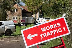 2020-10-06 HS2 Doddershall Lodge demolition