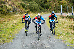 13-09-2017 FRA: BvdGF Tour du Mont Blanc day 4, Trient<br /> Van Chamonix naar Trient. <br /> Tjebbe, Rene, Jeroen