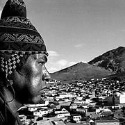 The Cerro Rico of Potosí. Bolivia.