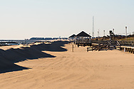 A Windswept Beach in Winter at the Jersey Shore