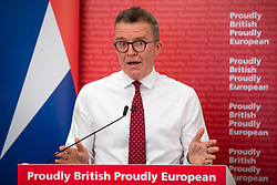 © Licensed to London News Pictures. 17/06/2019. London, UK. Deputy Leader of the Labour Party Tom Watson MP delivers a speech on the Labour position on Brexit at the Centre for European Reform. Photo credit: Rob Pinney/LNP