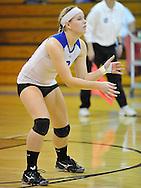 Brunswick vs Midview high school varsity volleyball at Midview High School on October 21, 2010. © David Richard
