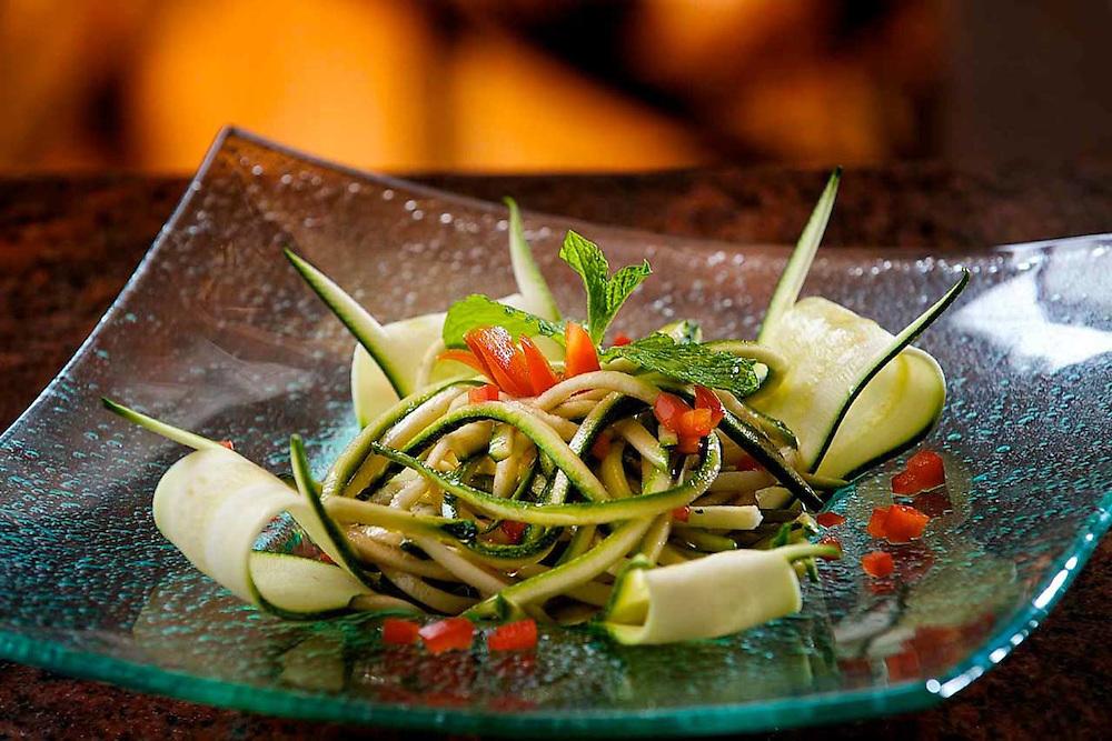 Cucumber & Zucchini Salad from Executive Chef Tony Grande of Il Capricco