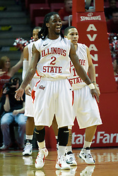 18 February 2012:  Bryant Allen during an ESPN Bracketbuster mens basketball game Where the Oakland Golden Grizzlies lost to the Illinois State Redbirds 79-75 in Redbird Arena, Normal IL