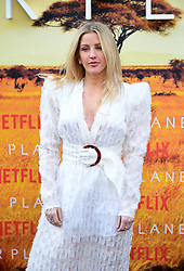 Ellie Goulding attending the global premiere of Netflix's Our Planet, held at the Natural History Museum, London.