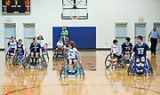 Charlotte Rollin' Hornets' Winter Classic Wheelchair Basketball Tournament. © 2017 WENDY YANG PHOTOGRAPHY