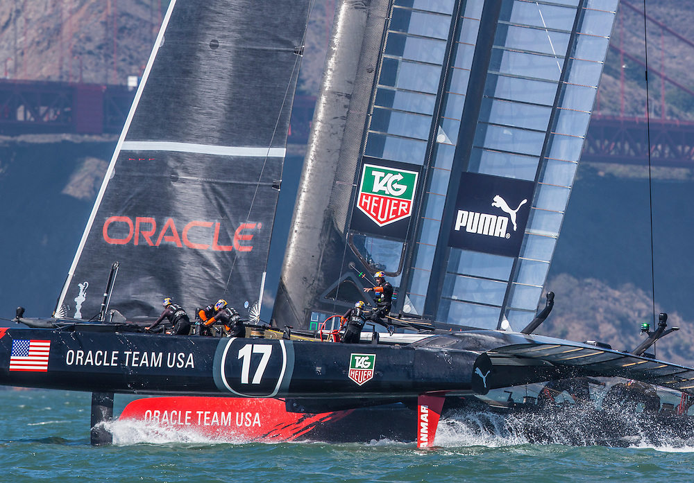 ORACLE Team USA<br /> <br /> 2013 America's Cup Sept 19