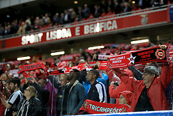 18 October 2017 -  UEFA Champions League - (Group A) - SL Benfica v Manchester United - Benfica fans - Photo: Marc Atkins/Offside