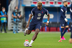 NICE, FRANCE - Wednesday, June 2, 2021: France's Paul Pogba during the pre-match warm-up before an international friendly match between France and Wales at the Stade Allianz Riviera ahead of the UEFA Euro 2020 tournament. (Pic by Simone Arveda/Propaganda)