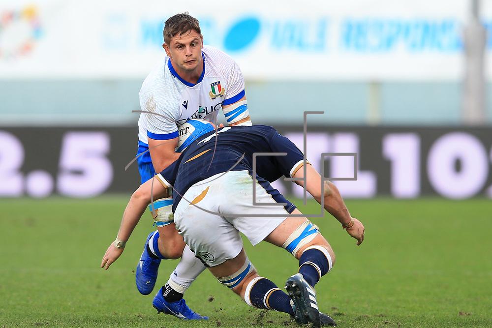 Firenze 14/11/2020, Stadio Artemio Franchi <br /> Autumn Nations Cup 2020<br /> Italia vs Scozia<br /> <br /> Johan Meyer