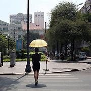 A street scene in Ho Chi Minh City, Vietnam. 3rd March 2012. Photo Tim Clayton