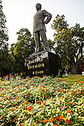 Statue of Sun Yat Sen in Zhong Shan Park in Beijing, China